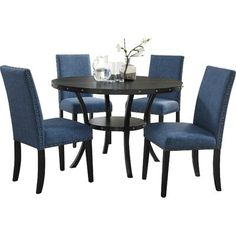 Kitchen Dining Sets, 5 Piece Dining Set, Dining Room Table, Table And Chairs, Dining Chairs, Table Seating, Wood Table, Chaise Sofa, Sleeper Sectional