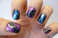 Galaxy nail ! I need this !