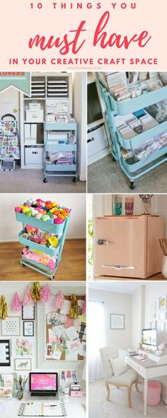 are you in need of craft ideas? In this post we have covered craft room organization, gorgeous tissue paper garland diy tassels idea and craft room storage ideas. As well as covering all of the essentials you need for your craft room or sewiing room to ma
