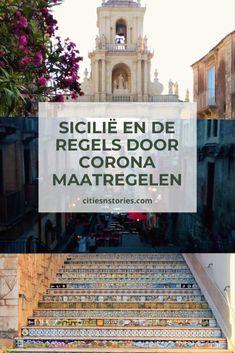 Lees in deze blog welke regels je dient te volgen zodra je naar Sicilië reist en corona maatregelen nog van kracht zijn. Cities, Catania, Dutch, Broadway Shows, Blog, Cinema, Lettering, Travel, Crowns