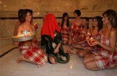 traditional Turkish bride bath,before wedding day!!!