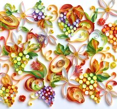 Yulia Brodskaya : amazing quilling paper art illustrations on her website.