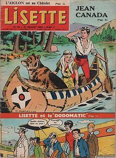 je lisais Lisette : Véronique et Odilon, les Jumelles, le courrier de Marraine ♥