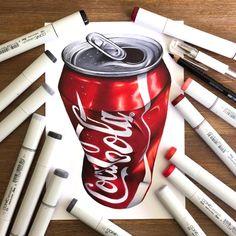 20 Improbable Detailed Illustrations design