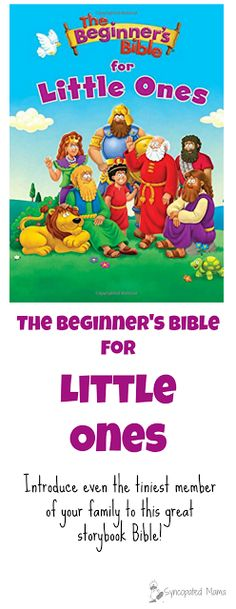 Introduce even the tiniest member of your family to this great storybook Bible!