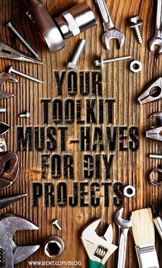 No matter which DIY project you take on, you're going to need the tools to help your vision become a reality.  #DIY #tools #toolbox