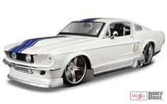 New Color!: 1/24 Maisto Design: Classic Muscle, The 1967 Ford Mustang GT
