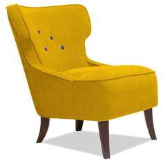 Sessel Audrey Button Senfgelb-Violett von AMORE DI CASA. Zu kaufen für 599€ bei Fashion for Home. Entdeckt von tausenden Nutzern bei ShopLove!