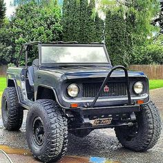 My Jeep Addiction — Next best thing to a Bronco Jeep Truck, 4x4 Trucks, Cool Trucks, Lifted Trucks, Small Trucks, International Scout Ii, International Harvester, Jeep Scout, Scout Truck