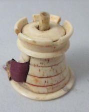 CASTLE  TAPE MEASURE; Sewing Original ANTIQUE c1800's
