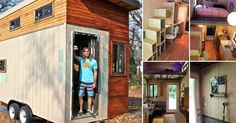 Un estudiante construyó una casita que lo librará de deudas
