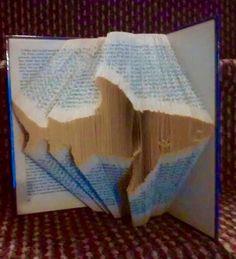 Book Folding Pattern Shark 383 Folds by CraftyHana on Etsy £3