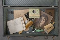 400 abandoned suitcases photographed capture a glimpse in the previous lives of patients admitted into an asylum and lost in obscurity. So sad! I think the idea is amazing though, they deserve to be remembered. It's so sad the way things have been/are for people declared mentally ill.