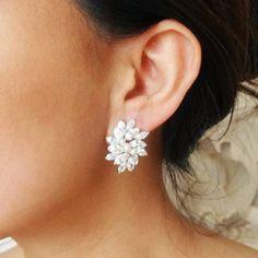 bfa4c01ee5ad 13 Best Vintage wedding earrings images