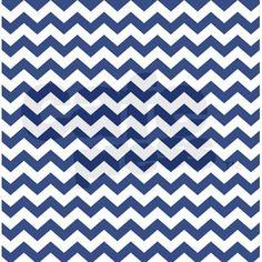 chevron pattern BLUE Shower Curtain on CafePress.com