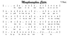 Image result for not angka dan not balok lagu indonesia raya