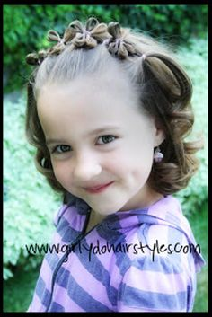 Flower Headband Hairstyle | 37 Creative Hairstyle Ideas For Little Kids
