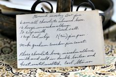 Vintage recipe for Almond Hershey Bar Pie made with chocolate bars and Cool Whip - easy to make no bake dessert