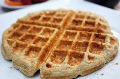Gluten-Free Protein-Packed Cinnamon Roll Waffles