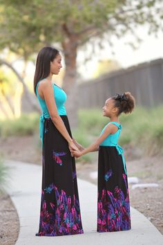 268ec3eea $32.99 Whisk Me Away Maxi Dress Littles - Be Inspired Boutique Mommy  Daughter Dresses, Mommy