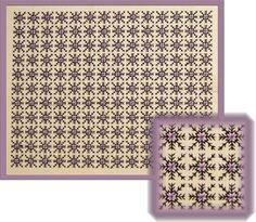 "Blackwork design.  Use of ""Patterns"" in 5D Cross Stitcher."