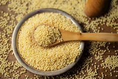 Why settle for quinoa when you can have millet? Find out why you should add this ancient seed to your diet. How To Cook Millet, Savory Salads, Grain Bowl, Gluten Free Grains, Food Staples, Flour Recipes, Eating Raw, Korn, Diets
