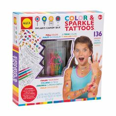 Alex Toys Color & Sparkle Tattoos | Dylan's Candy Bar