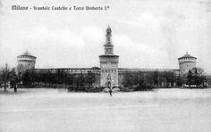 castello sforzesco - inizio '900