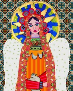 """""""Virgin of Guadalupe"""" by Heather Galler of Collect Artwork"""
