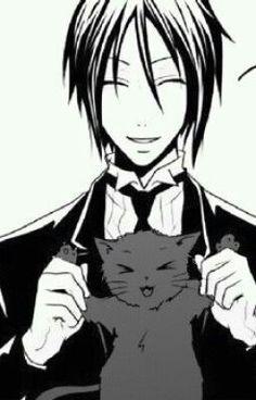 Sebastian and neko~