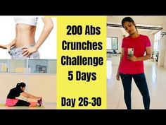 200 Abs Crunches challenge to Reduce belly Fat | |Day 26-30 | Somya Luhadia Crunches crunches challenge #crunches challenge 200 Abs Crunches challenge to Reduce belly Fat | |Day 26-30 | Somya Luhadia Crunch Challenge, 30 Day Challenge, Ab Crunch, Reduce Belly Fat, Crunches, More Fun, Fit Women, Rid, Massage