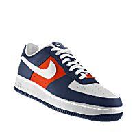 I designed the dark blue, orange and white Illinois Fighting Illini Nike Air Force 1 Low iD women's shoe.