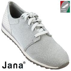 Jana női cipő 8-23601-28 204 szürke (ezüstös) kombi 559a28459c