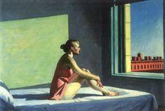 Edward Hopper | Morning Sun, 1952.