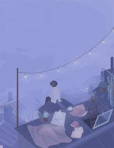 𝓛𝓲𝓷 - Anime Gifs Art by Aesthetic Drawing, Aesthetic Gif, Orange Aesthetic, Gif Bonito, Pix Art, Animated Love Images, Aesthetic Photography Nature, Anime Scenery Wallpaper, Beautiful Gif
