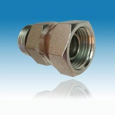 NPSM thread carbon steel straight pipe hydraulic hose fittings