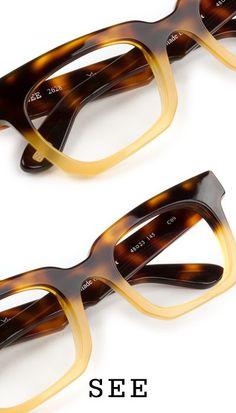 New Glasses Frames For Women Brown Ux Ui Designer Ideas Funky Glasses, Cute Glasses, New Glasses, Glasses Frames, Cat Eye Sunglasses, Sunglasses Women, Fashion Eye Glasses, Sunglass Frames, Havana