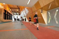 Suters Architects was founded in 1958 in Newcastle, Australia. After many years and unions with other firms, are Australian references to a quality architecture that respects the history and culture. Australian Interior Design, Interior Design Awards, Project Methodology, Basketball Court, Architecture, Day, Sports, Interiors, Spaces