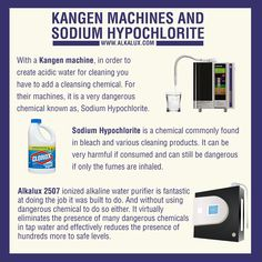Kangen Machines and Sodium Hypochlorite Visit our official website: http://www.alkalux.com