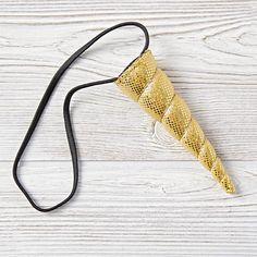 Unicorn Headband (Gold)