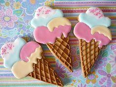 galletas con forma de helado - Buscar con Google
