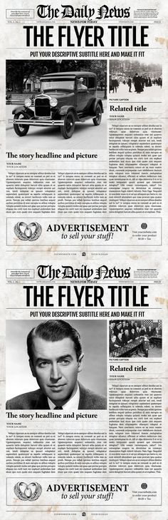 the flyer newspaper