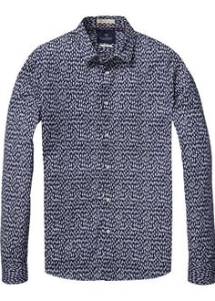 Buy Scotch & Soda Longsleeve Shirt in Cotton/Elastane Quality. Free UK Delivery available on all purchases at Dapper Street. Scotch Soda, Dapper, Long Sleeve Shirts, Shirt Dress, Couture, Street, Check, Mens Tops, Cotton