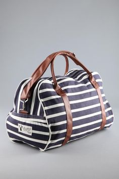 Cotton On Boston Barrel Bag $24.95.. for travel, the gym, just because... its cute!