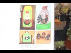 Sonia Franco. Programa Nuestra Casa. Delantal Country con Gallinas 1/4 - YouTube