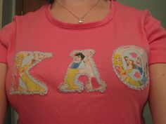 Wearing Lettered Shirt