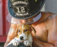 Melt your panties for a good cause by purchasing a sexy firefighters with puppies calendar. The nation's bravest tamers of fire expose their rippling muscles and washboard abs while posing with the most adorable puppies you've ever seen.