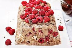 Turn chocolate ice-cream into a show-stopping dessert with this gourmet recipe.