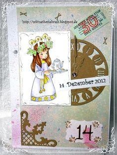 ♥Sabinesbastelwelt♥ December Daily, Cover, Books, Art, December, Art Background, Libros, Christmas Calendar, Book