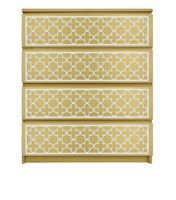 Show details for QuatreFoil O'verlays Kit for IKEA MALM (4 drawer)